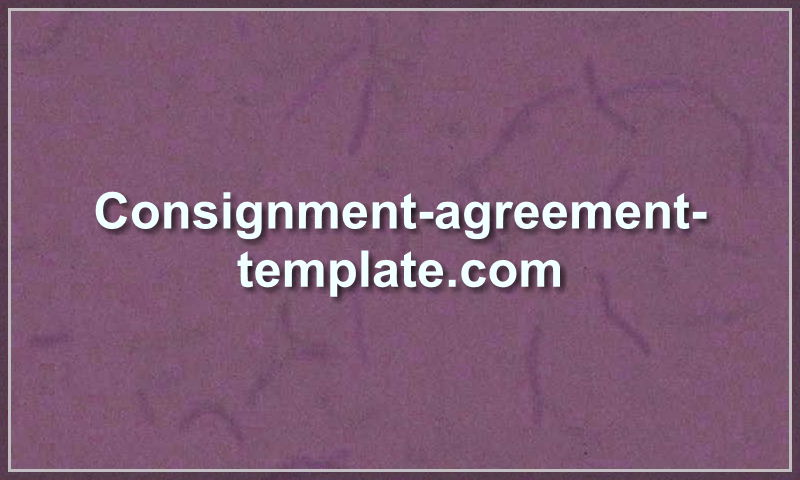 consignment-agreement-template.com