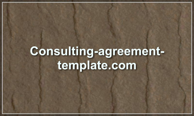 consulting-agreement-template.com