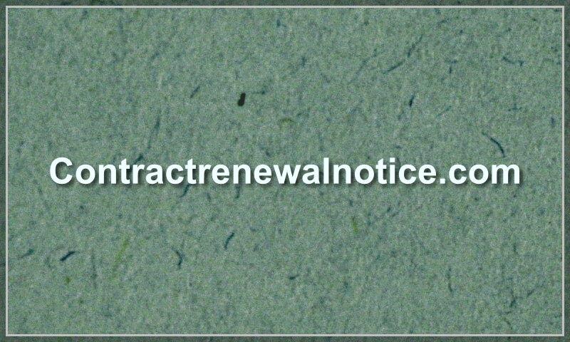 contractrenewalnotice.com