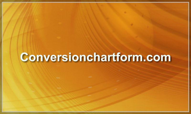 conversionchartform.com