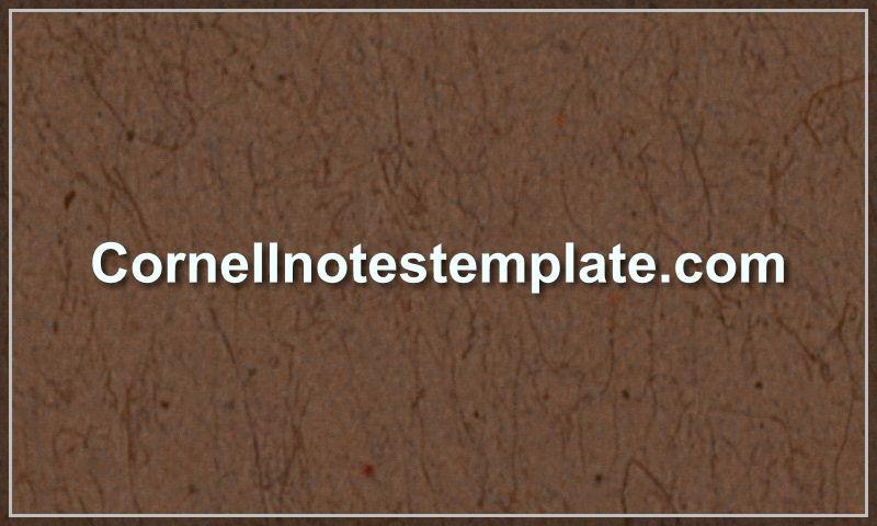 cornellnotestemplate.com