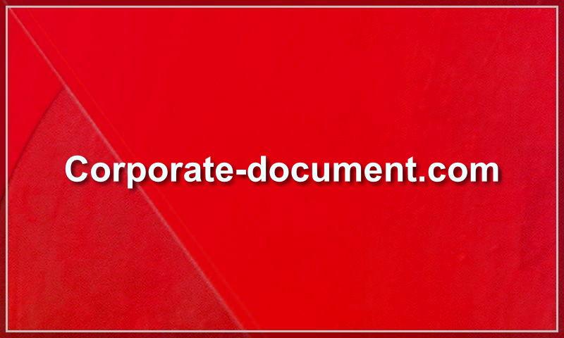 corporate-document.com