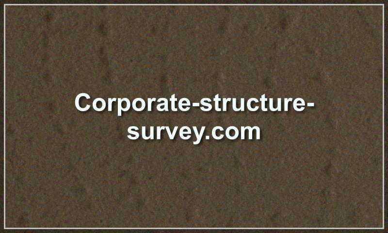 corporate-structure-survey.com