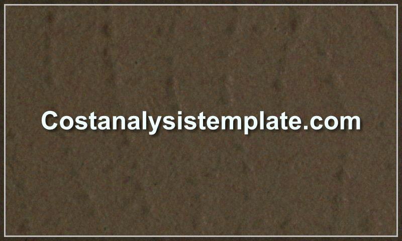 costanalysistemplate.com