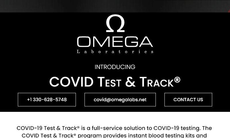 covidtesttrack.com