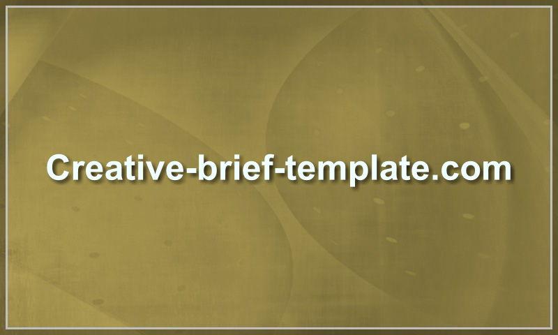 creative-brief-template.com