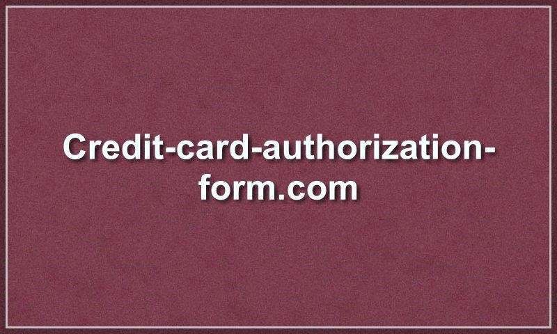credit-card-authorization-form.com
