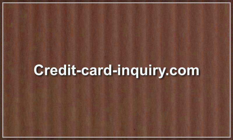 credit-card-inquiry.com