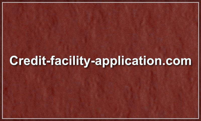 credit-facility-application.com