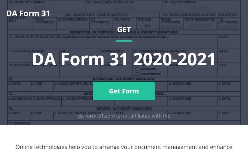 da-form-31.com