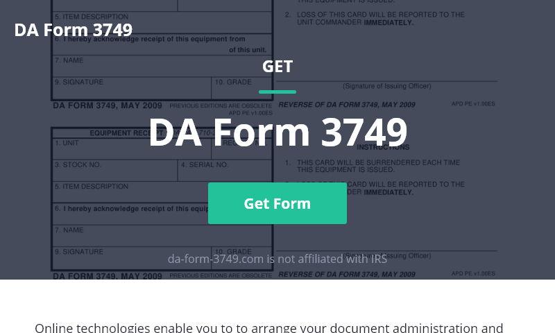 da-form-3749.com