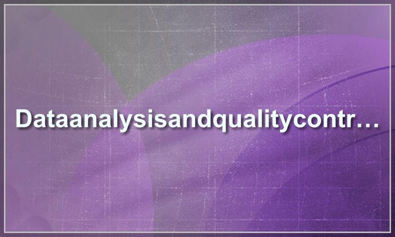 dataanalysisandqualitycontrol.com