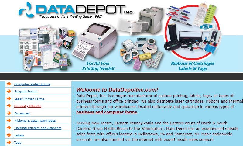 datadepotinc.com