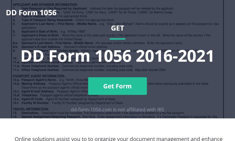 dd-form-1056.com