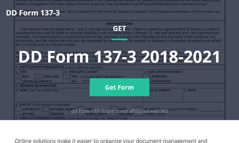 dd-form-137-3.com