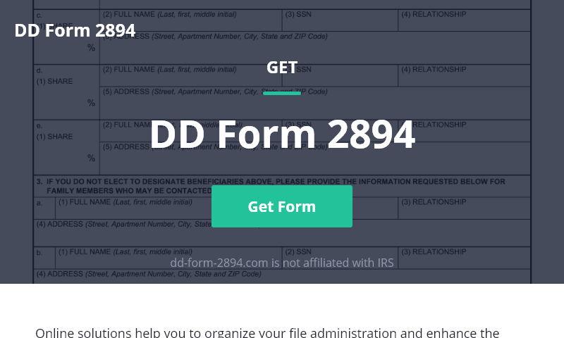 dd-form-2894.com