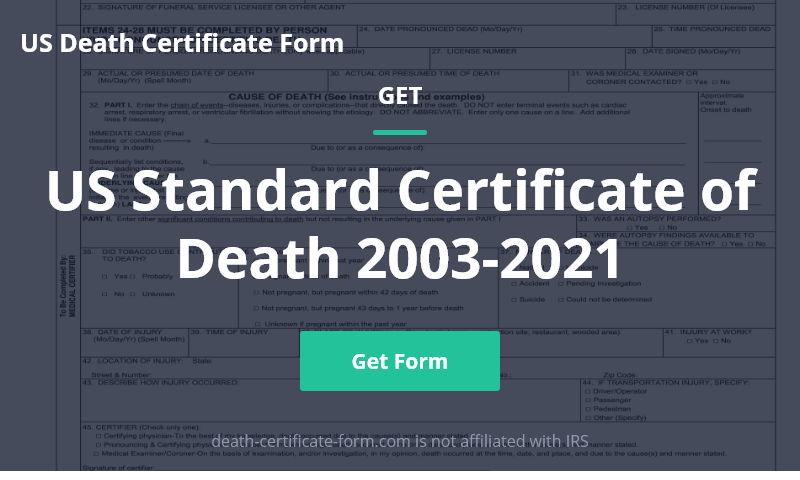 death-certificate-form.com