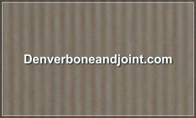 denverboneandjoint.com