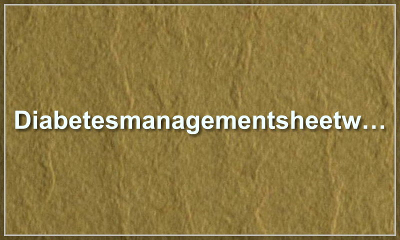 diabetesmanagementsheetweb.com