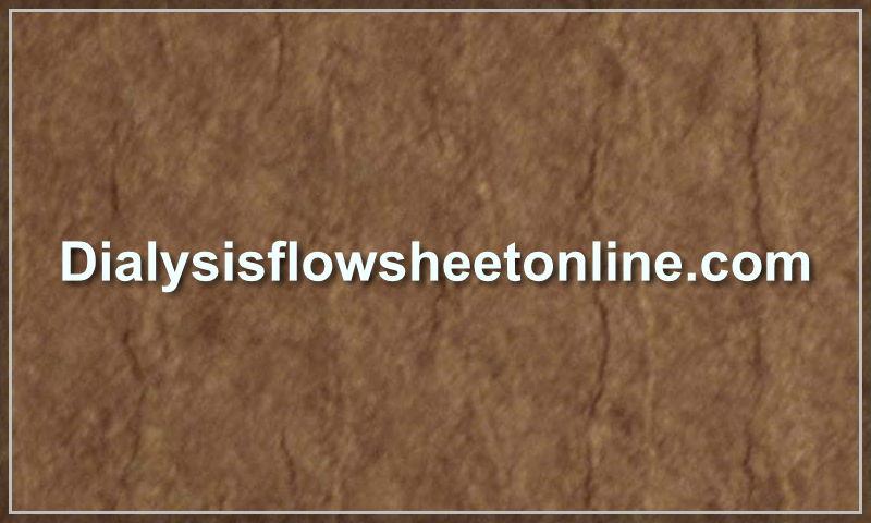 dialysisflowsheetonline.com