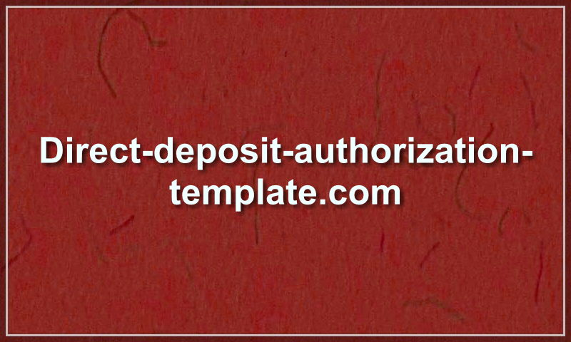 direct-deposit-authorization-template.com