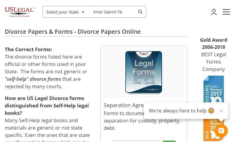 divorcepackages.com