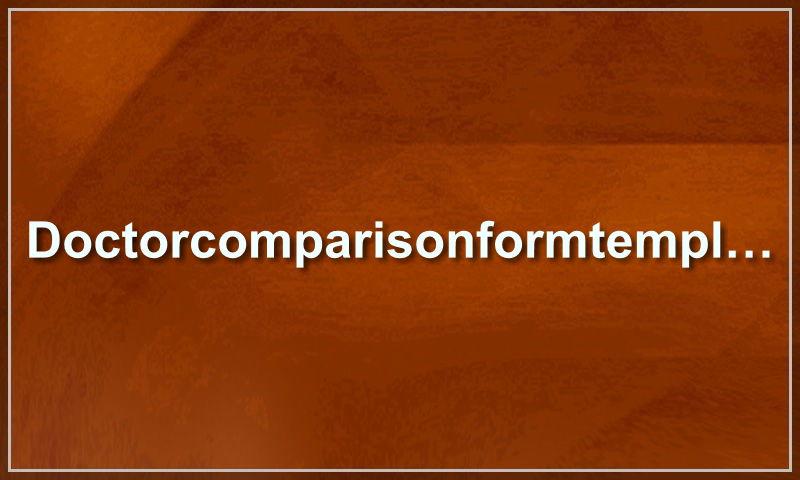 doctorcomparisonformtemplate.com.jpg