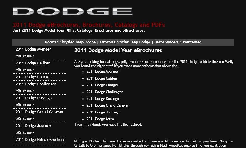 dodgeebrochures.com