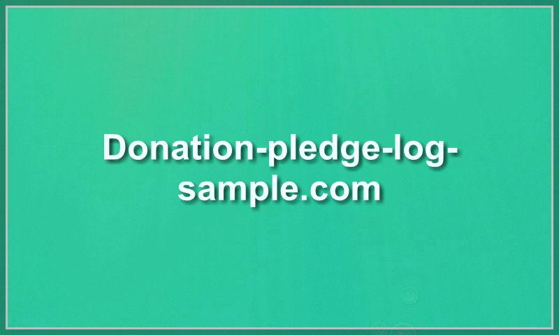 donation-pledge-log-sample.com