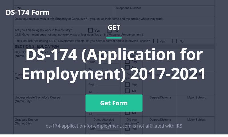ds-174-application-for-employment.com