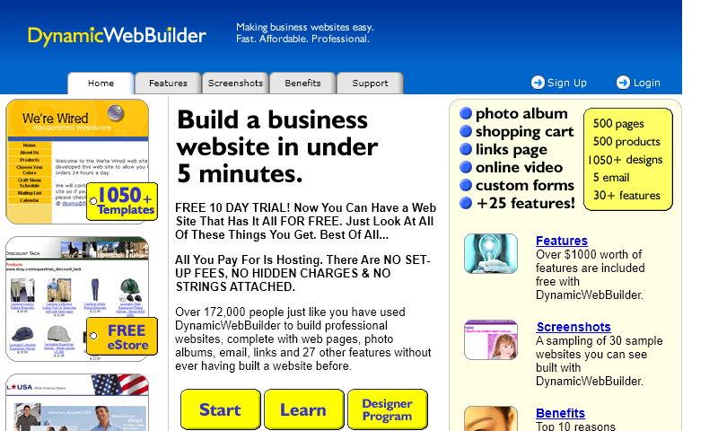 dynamicwebbuilder.com