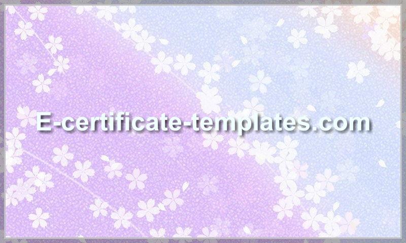 e-certificate-templates.com