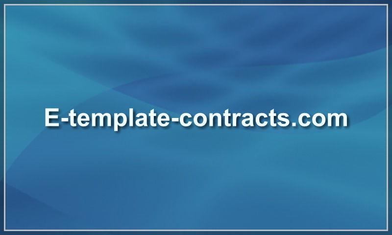 e-template-contracts.com