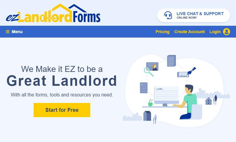 www.e-zlandlordforms.com
