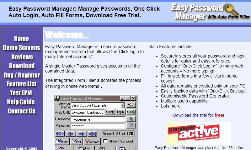 easypasswordmanager.com