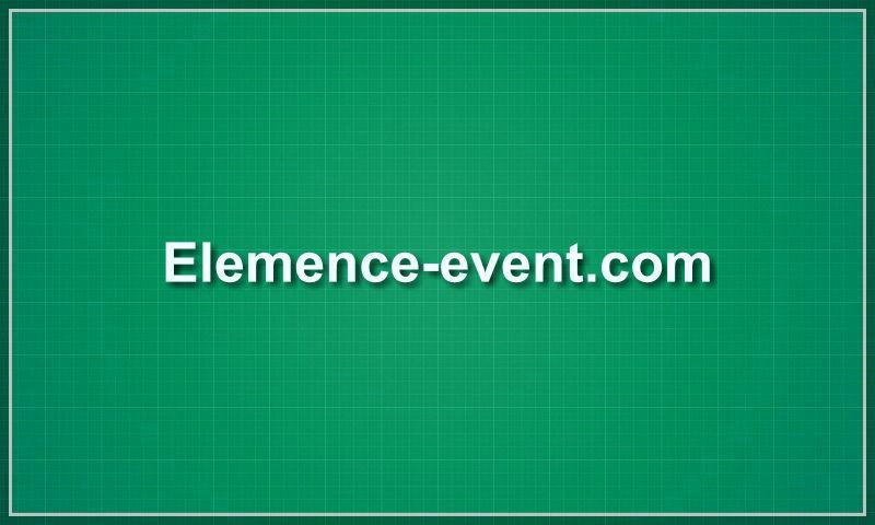 elemence-event.com