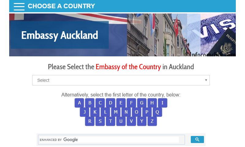 embassyauckland.com
