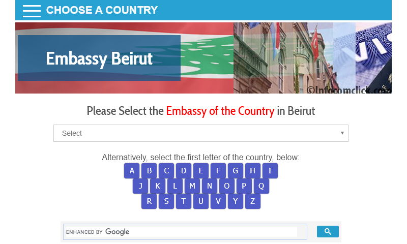 embassybeirut.com
