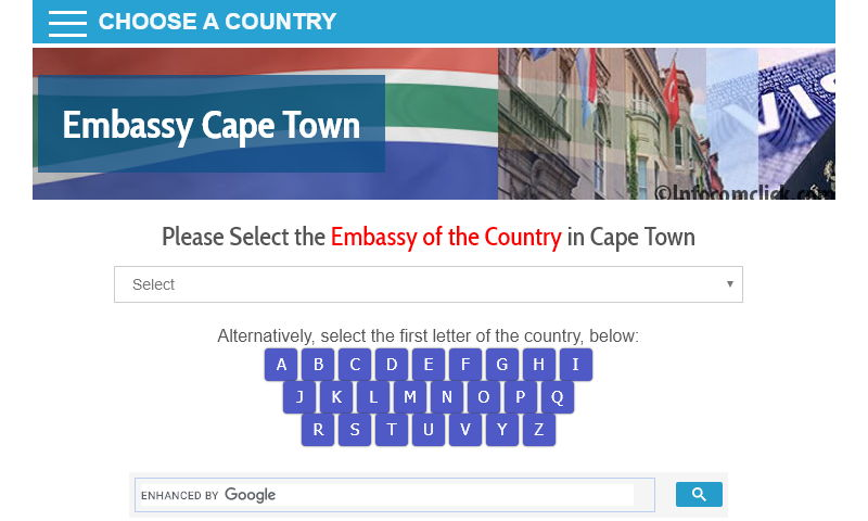 embassycapetown.com
