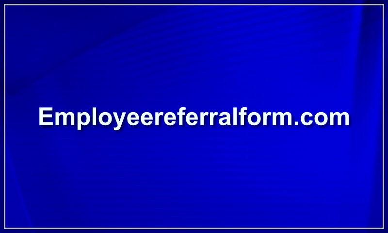 employeereferralform.com