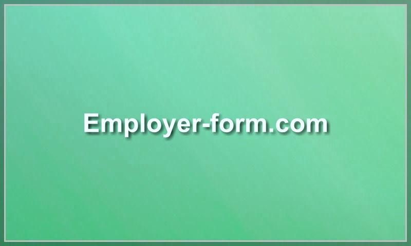 employer-form.com