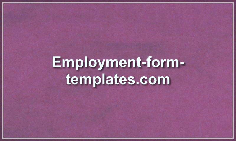 employment-form-templates.com