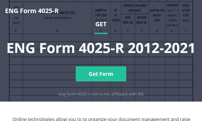 eng-form-4025-r.com