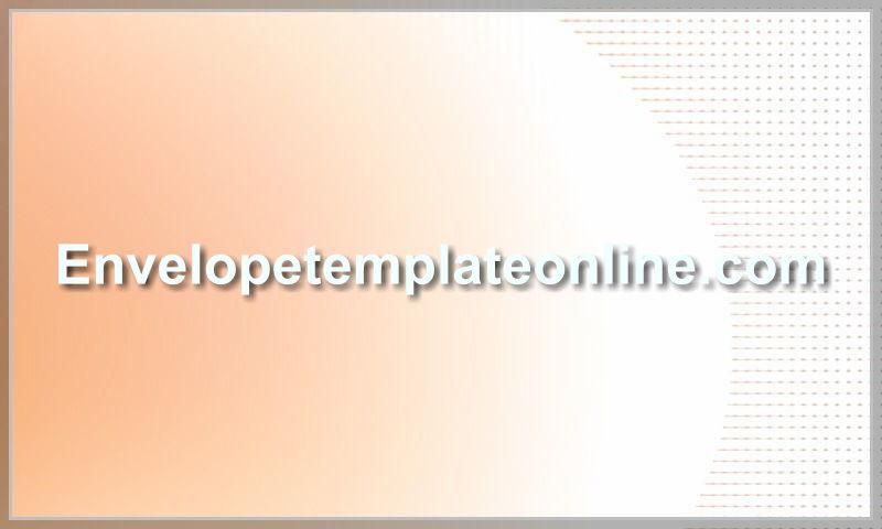 envelopetemplateonline.com