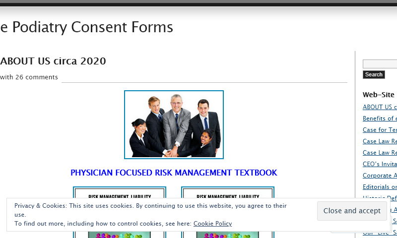 epodiatryconsentforms.com