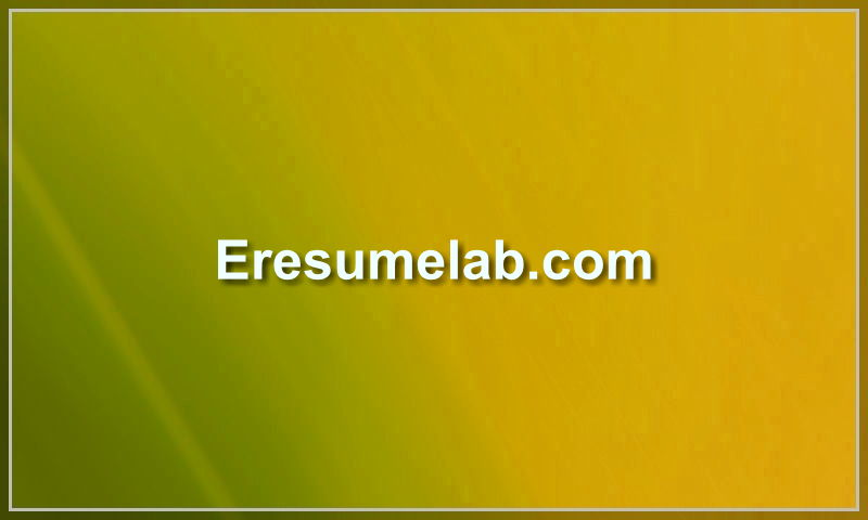 eresumelab.com