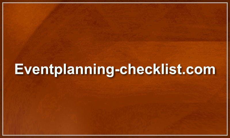 eventplanning-checklist.com