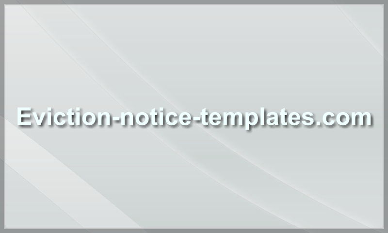 eviction-notice-templates.com