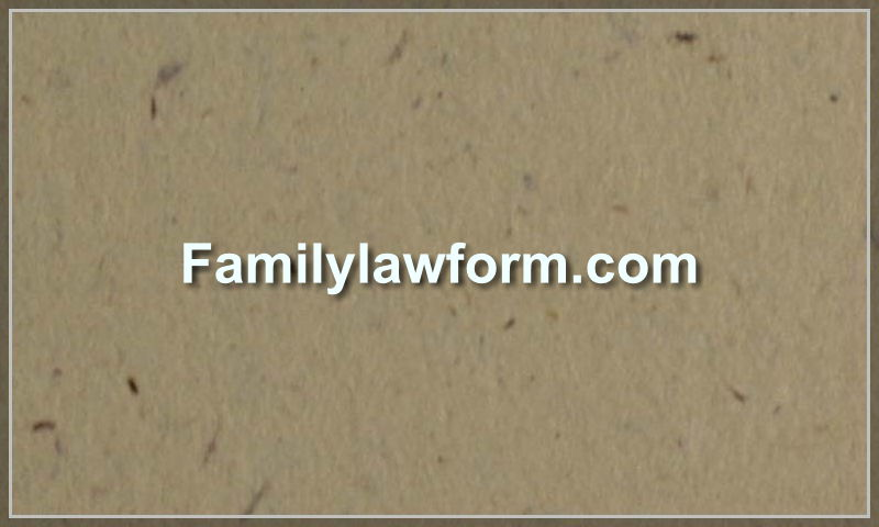 familylawform.com