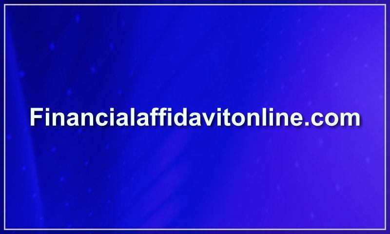 financialaffidavitonline.com